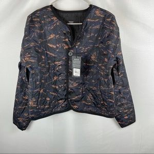 NWT Hudson Reversible Quilted Jacket